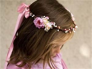 Couronne De Fleurs Mariage Petite Fille : couronnes de fleurs enfants mademoiselle sweet wedding ~ Dallasstarsshop.com Idées de Décoration