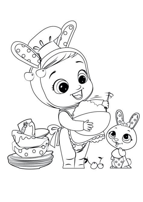 cry babies magic tears pagina  stampa  colora  tuoi