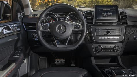 The most important update lurks under the. 2017 Mercedes-AMG GLE 43 Coupe (US-Spec) - Interior, Cockpit | HD Wallpaper #23