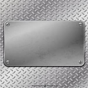 Plaque De Metal : plaque acier vecteurs et photos gratuites ~ Teatrodelosmanantiales.com Idées de Décoration