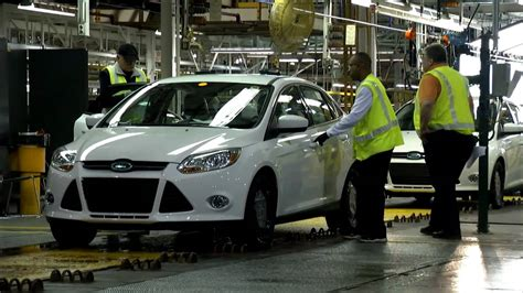 Ford Focus Plant by Ford Focus Assembly Plant Michigan