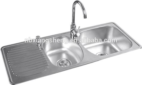 kitchen stainless steel sink double bowl stainless steel