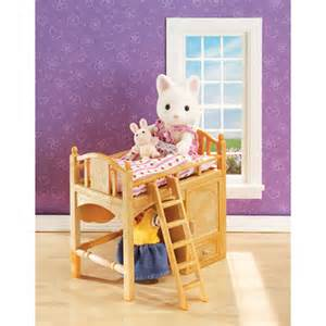 calico critters sister s loft bed amazing toys