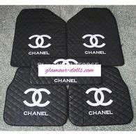 chanel siege chanel 18pc pink black car seat cover set voitures