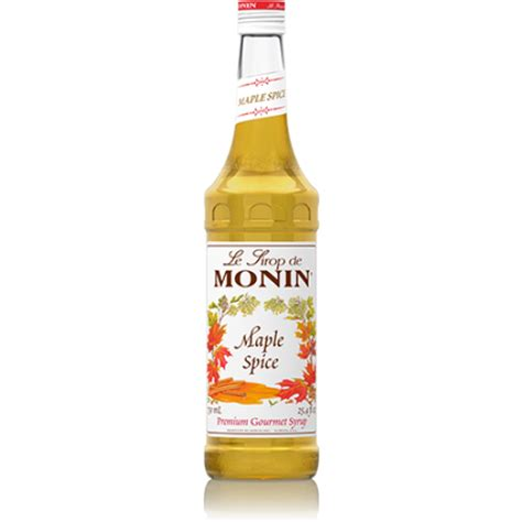 oregon chai monin maple spice syrup tidewater coffee
