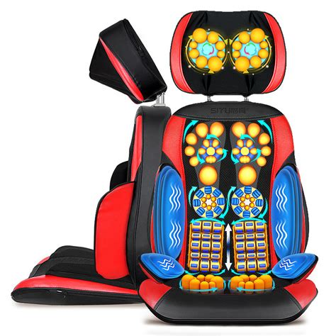 Full Body Electric Massage Chair Office Pad Vibration Mat