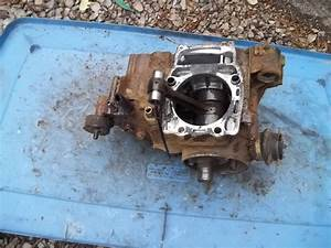 1996 Polaris Magnum 425 2wd Engine Motor Crank Bottom Half