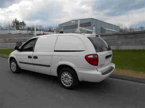 how to work on cars 2006 dodge caravan parking system sell used 2006 dodge caravan se mini van 4 door 2 4l cargo van ladder racks work van in north