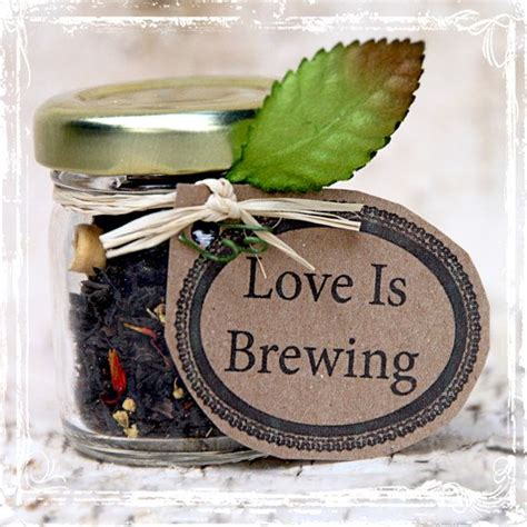 love is brewing tea wedding favors 20 by sparkleandposy on