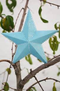 3D Paper Star Ornament Template