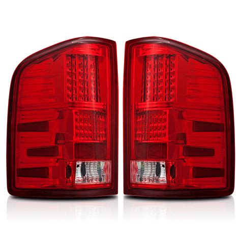 2010 chevy silverado led tail lights red 2007 2012 chevy silverado led tail lights 1500hd
