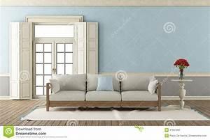 Salon Gris Bleu : salon classique bleu et gris illustration stock illustration du beige tapis 47657281 ~ Melissatoandfro.com Idées de Décoration
