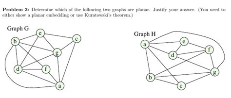 Graph Theory Proving Planarity