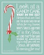 Candy Cane Poem Printable to give with some candy canes or ...