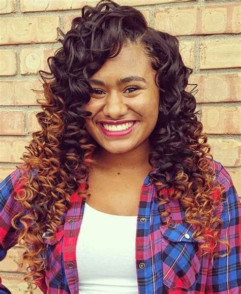 Curly Sew In Hairstyles by 20 Endearing Sew In Hairstyles