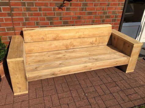 Möbel Aus Gebrauchtem Holz by Stylische M 246 Bel Aus Gebrauchtem Bauholz F 252 R Den Garten