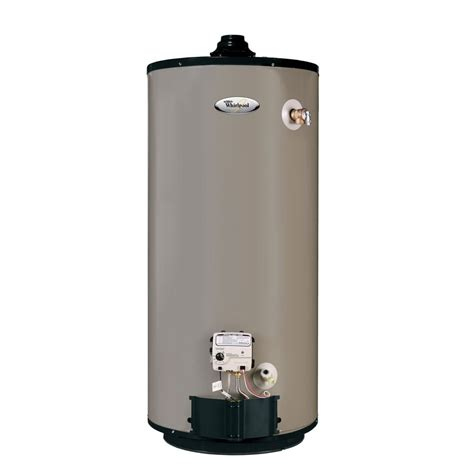 water heater whirlpool b5992 50 gal tall gas water heater natural gas lowe s canada
