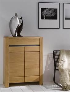 Meuble Chene Clair : meuble d 39 appui contemporain ch ne clair lucas meubles turone ~ Edinachiropracticcenter.com Idées de Décoration