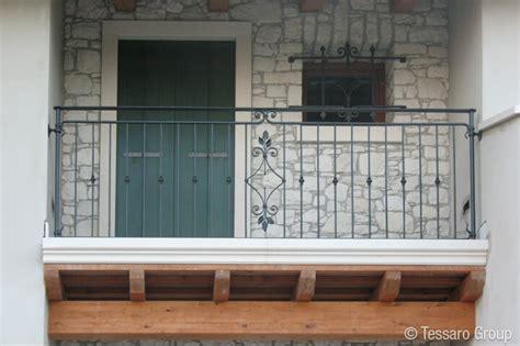ringhiera in ferro battuto per esterno tessaro ringhiere per scale esterne
