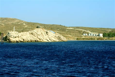 Kos To Santorini By Boat by Kos Boat Trip Greece Flag 3 Photo Greece