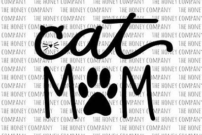 Svg Mom Cat Fur Paw Mama Lover