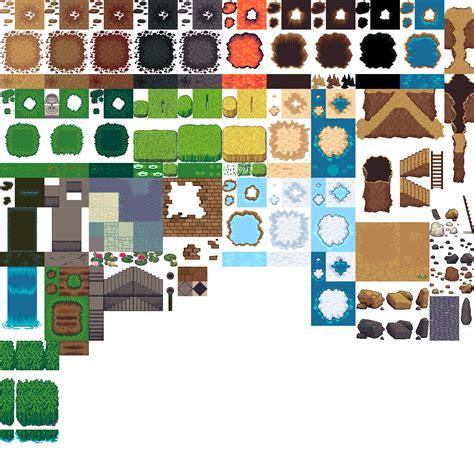 tiled terrains opengameartorg