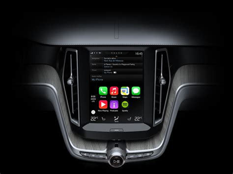 volvo email launches carplay integrating ios in the car