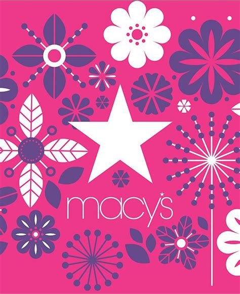 If you're a macy's cardholder, you can enroll in the star rewards program outlined above. Macy's Macy's Floral E-Gift Card & Reviews - Gift Cards - Macy's