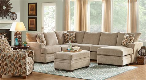 Wohnzimmer Bilder Braun Beige by Beige Brown Blue Living Room Furniture Decorating Ideas