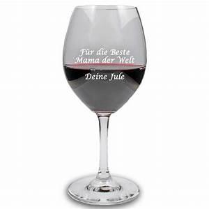 Weizenbierglas Mit Foto : rotweinglas mit pers nlichem text graviert bei geschenkemaxx ~ Michelbontemps.com Haus und Dekorationen