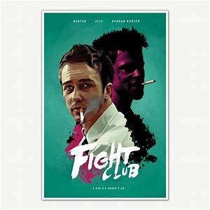 Fight Club Movie Poster For Room Movie Posters - Inephos