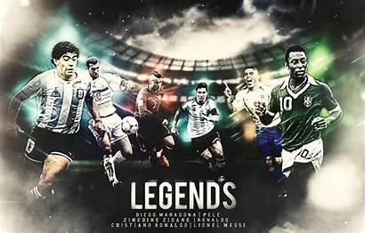 Maradona Diego Football Legends Pele Messi Ronaldo