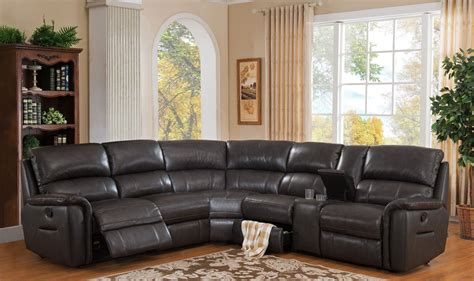 grey reclining sectional camino charcoal grey reclining sectional from amax leather