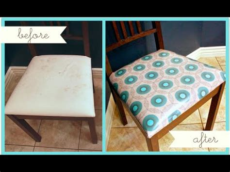 reupholster dining  kitchen chairs youtube