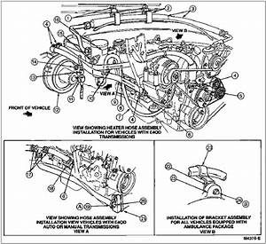 Wz 3637  Cooling System Hose Diagram For Ford F 250 Super