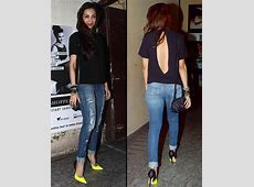 Bollywood Stars Rocking the Ripped Jeans Trend