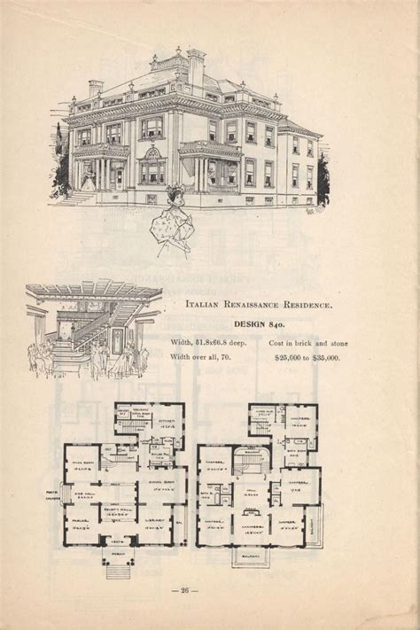 artistic city houses   mansion floor plan vintage house plans  victorian homes