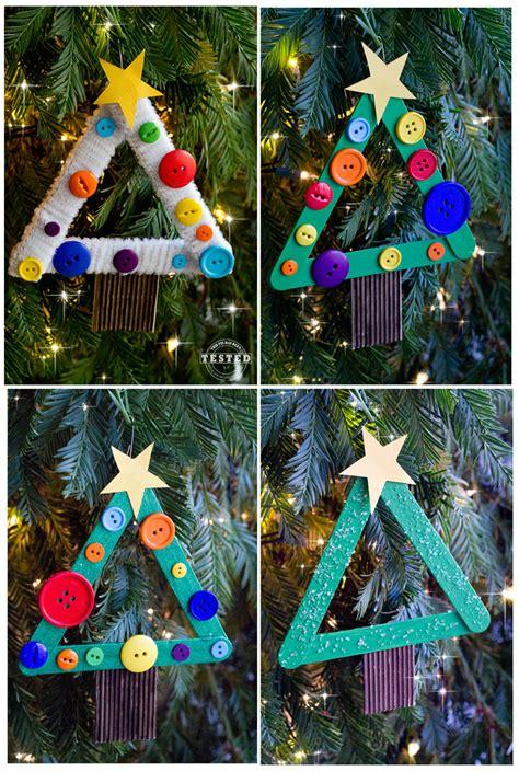 diy kids christmas tree ornament   pinterest