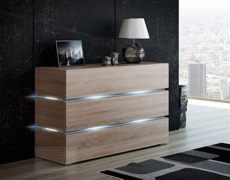 Sideboard Eiche Modern by Kaufexpert Kommode Shine Sideboard 120 Cm Sonoma Eiche