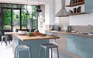 Cuisine Bleue Ikea : inspirations d co pour une cuisine bleue joli place ~ Preciouscoupons.com Idées de Décoration