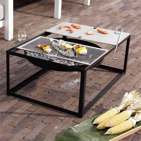 Feuerschale Mit Grill by Tisch Feuerschale Mit Grill Ist Feuer Und Flamme