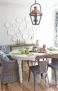 35, Stunning, Spring, Kitchen, And, Dining, Room, Decorating, Ideas, 2019, 38