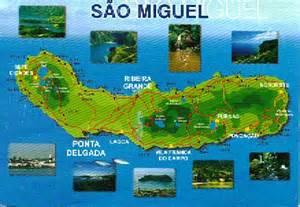 Sao Miguel Azores Map