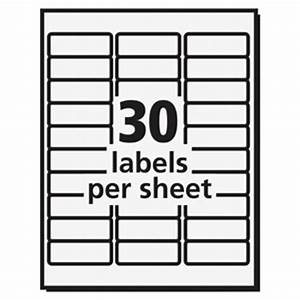 avery 8660 easy peel inkjet printer mailing labels With avery template 8660 for microsoft word