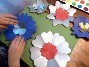 Blumen Basteln Kinder : blume basteln ~ Frokenaadalensverden.com Haus und Dekorationen