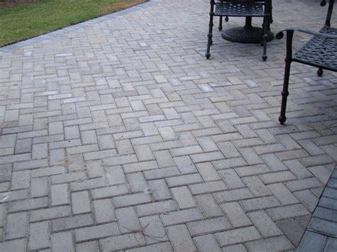 patio block patterns pattern 45 degree herringbone field piedmont border charcoal stone pavers pinterest