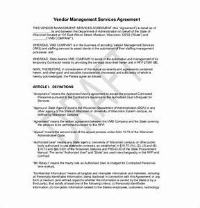 preferred vendor agreement template 10 vendor agreement With preferred vendor agreement template