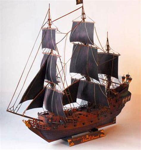 Barco Pirata Perla Negra by Miniaturas Jm 187 Recortables De Papel 187 Recortable Del