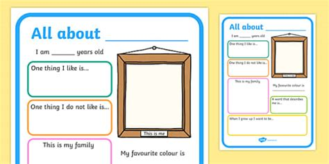 This Is Me Art Template by All About Me Poster All About Me Me Poster Poster About Me