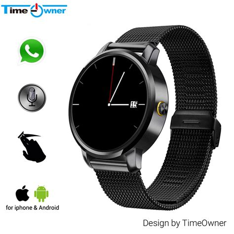 iphone compatible smart watches yemon smart watches bluetooth with compatible with time owner v360 bluetooth smart compatible with ios